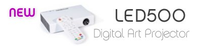 LED500 Diginal Art Projector