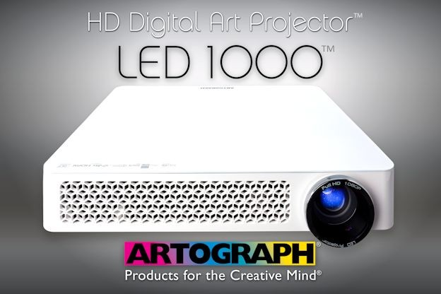 Art projectors artograph for Best projector for mural painting