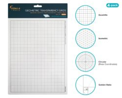 Koala Tool Geometric Grids Transparencies