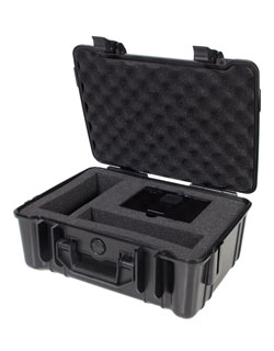 A deluxe hard case for protecting the Artograph LED300 from damage during storage and travel.