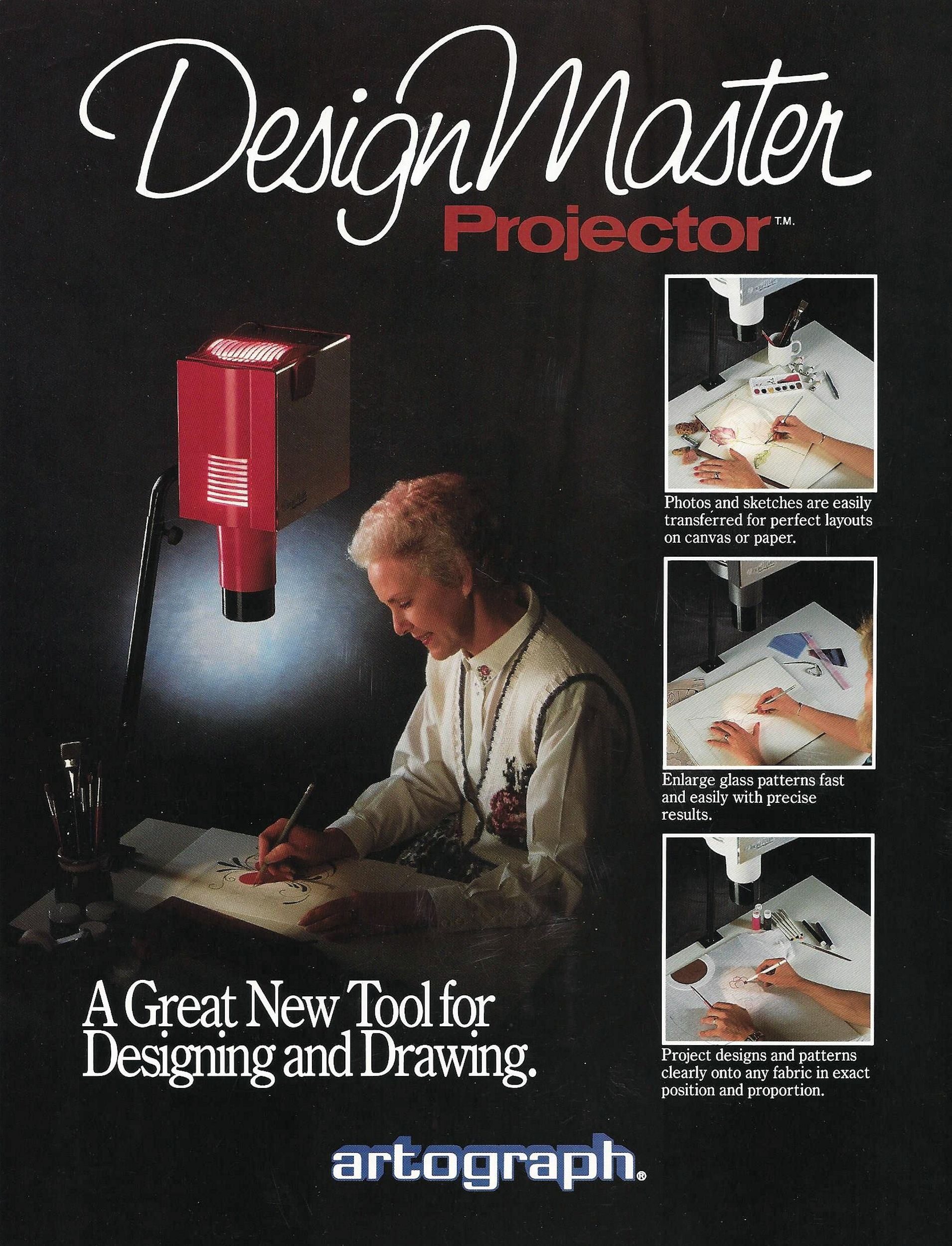 An ad for the DesignMaster from 1990.