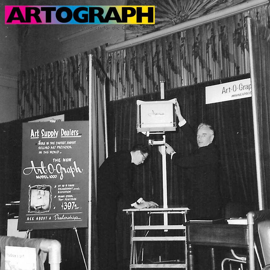 art-o-graph-at-tradeshow