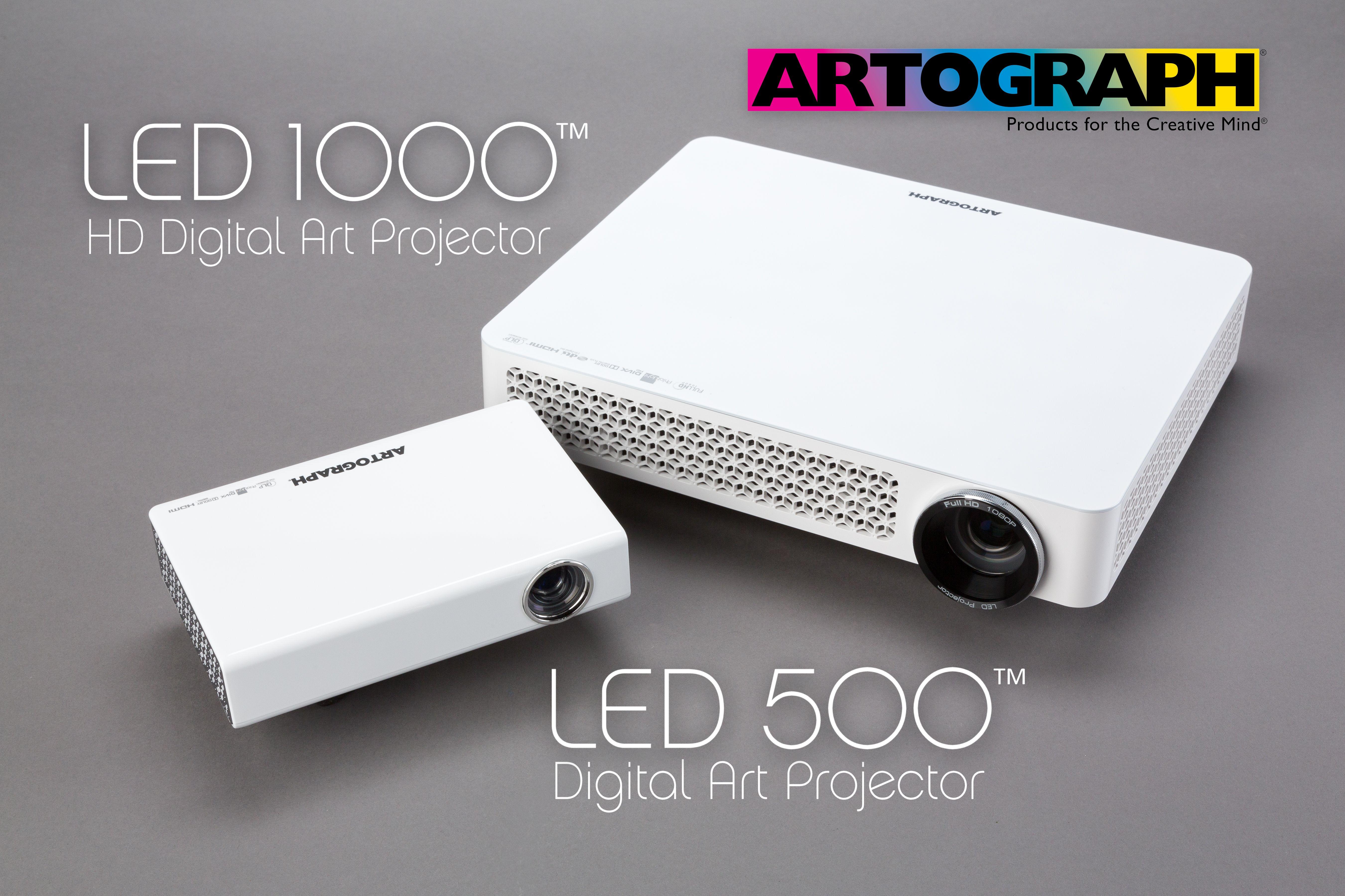 Press Release LED 1000 HD Digital Art Projector