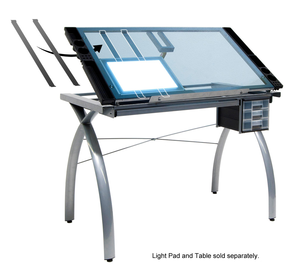 10049-Light-Pad-Support-Bars-Diagram