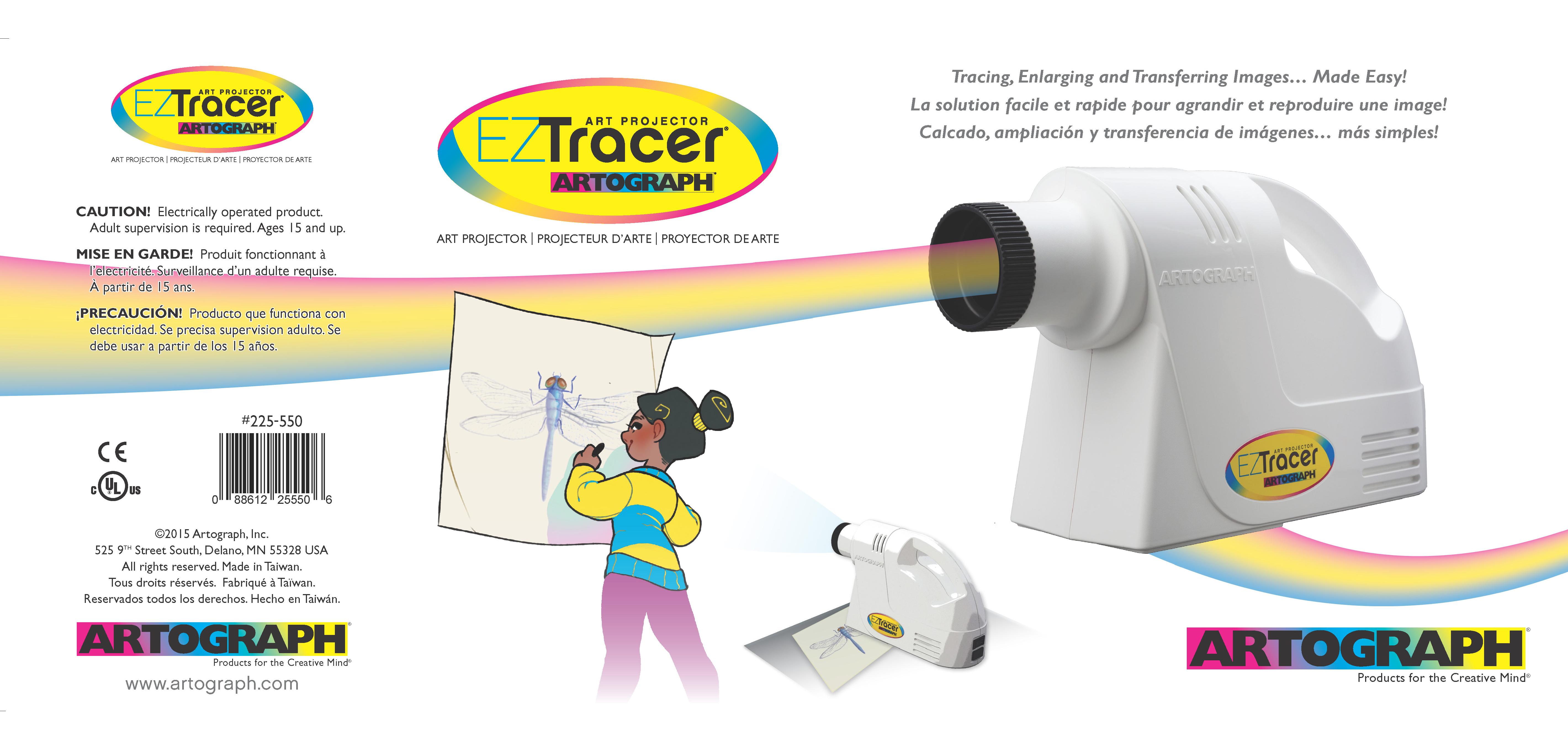 Artograph EZ Tracer Opaque Art Projector box UPC 88612255506