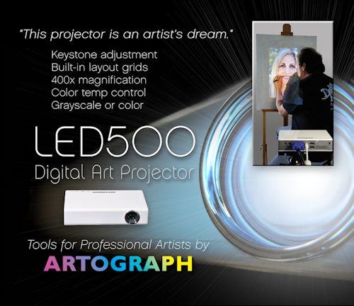 LED 500 Digital Art Projector