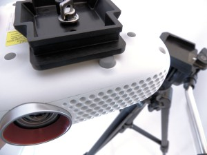 projector-on-tripod-plate