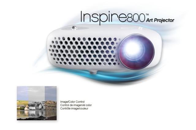 Inspire800 Art Projector