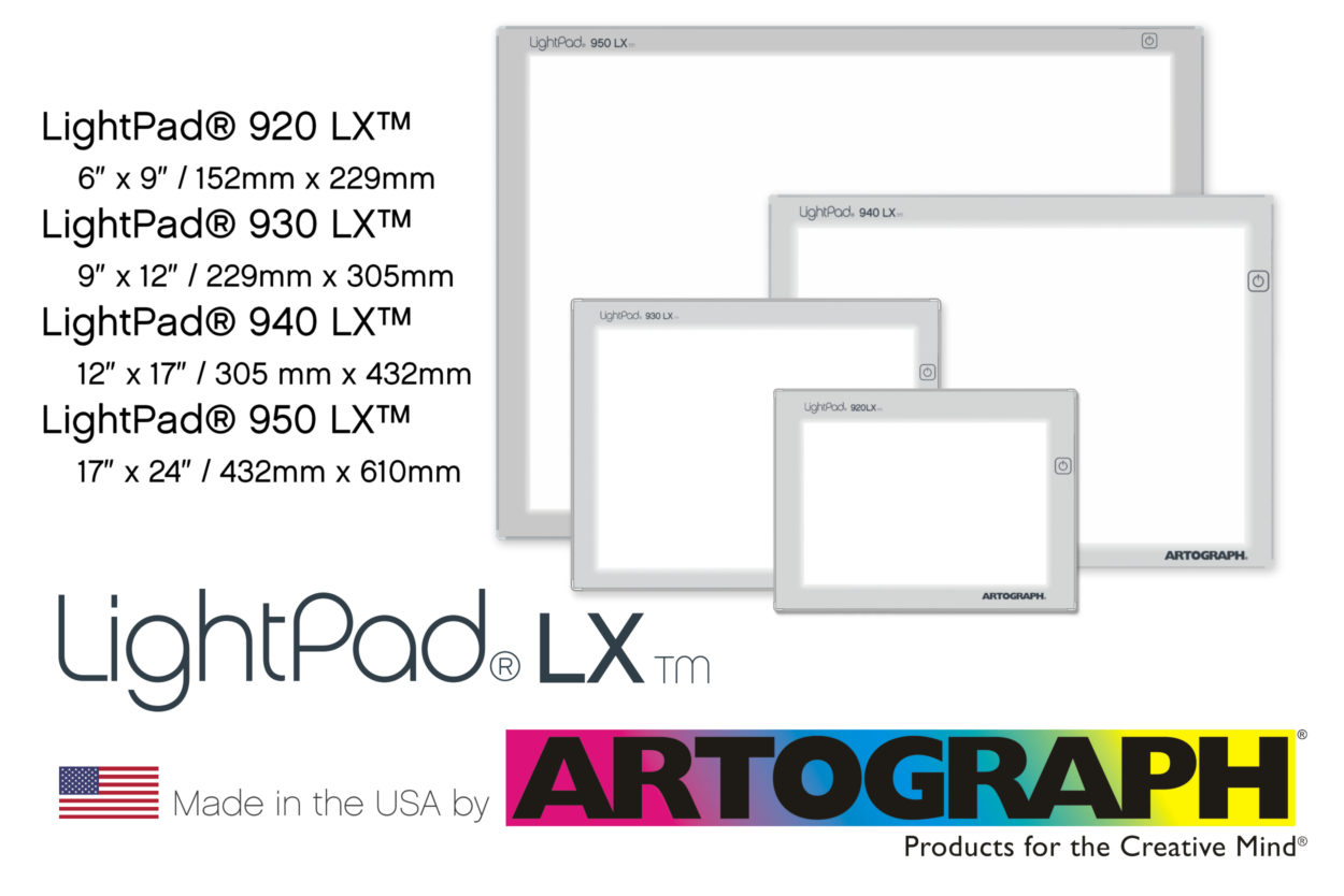 Artograph LightPad LX light box - Made in the USA