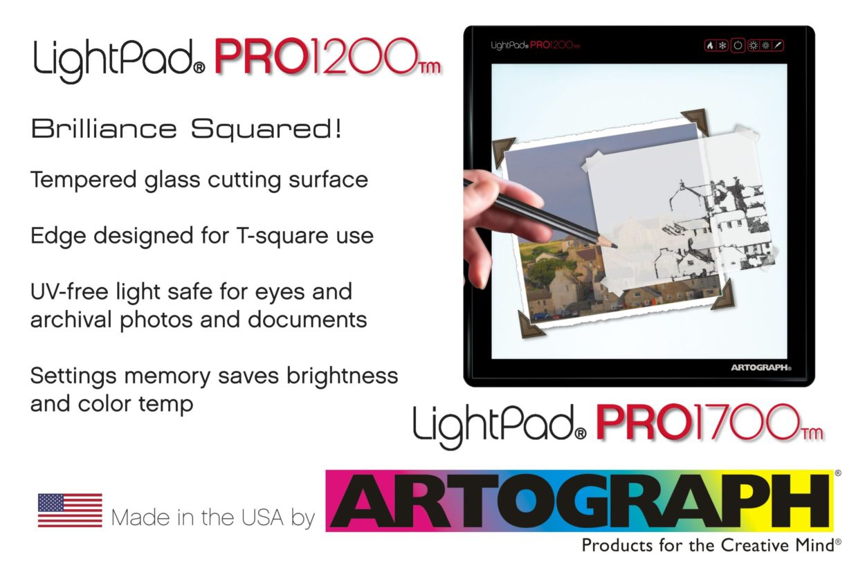 Artograph LightPad PRO light box - Made in the USA