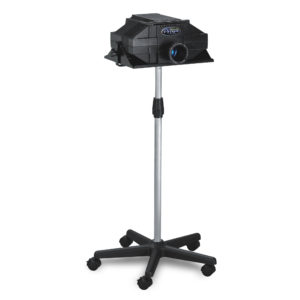 Mobile Floor Stand with Prism Projector